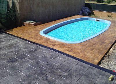 Hormig n impreso badajoz empresa de hormig n pulido for Cuanto sale hacer una piscina en chile